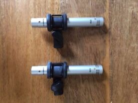 Samson C02 Condenser Microphones [Pair] [Mint Condition]