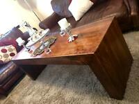 Luxury long coffee table & TV Unit. STILL LOOKS ALMOST NEW. PRICE REDUCED!