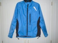 Women's Waterproof and Windproof Cycle Jacket. Size 12. Good as new