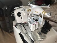 Phantom 3 Pro, ex condition, 1 battery and multi-point charger