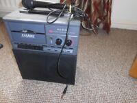 Alba Portable Stereo Karaoke Cassette Player Mixer Guitar Amplifier (Busking!)