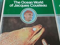 The Ocean World of Jacques Cousteau Ten very rare books Great condition £40 ono