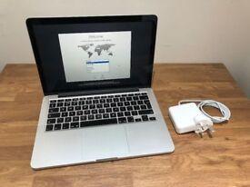 "Apple MacBook Pro Retina 13.3"" Late-2013 2.4GHz Core i5 256GB SSD 8GB RAM"