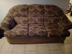 Used 3 seater sofa, no longer needed £10
