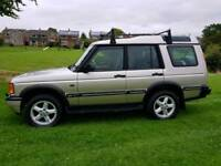 2001 LAND ROVER DISCOVERY 2 TD5 XS DIESEL 1 YEARS MOT 5 SEATS MANUAL 4X4