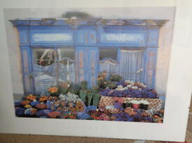 Provencal flower market picture