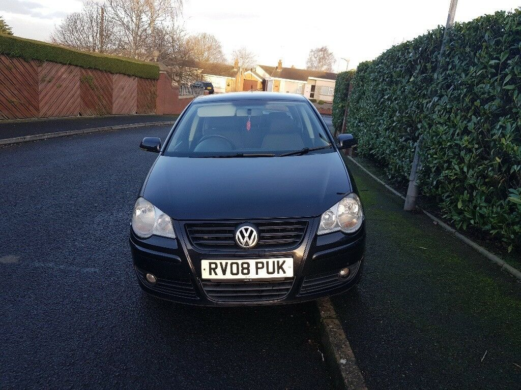 2008 Vw Polo 1 4 Tdi 30 Road Tax Cheap For Quick Sale Like Golf