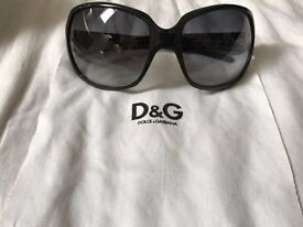 Dolce & Gabbana Sunglasses, like new (worn out original case and cloth included)