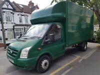 2007 Ford Transit XLWB NO VAT 140 Luton MK7 Box Van 14ft with Tail Lift NOT IVECO SPRINTER CRAFTER
