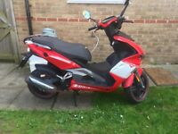 LEXMOTO DIABLO 125 SCOOTER IN VERY GOOD CONDITION
