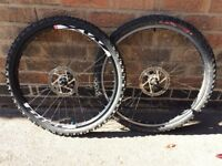 "26"" Mountain Bike Disc Wheels"