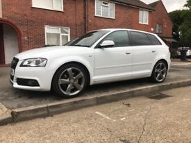 AUDI A3 S LINE BLACK EDITION 2012.(SWAP/SWOP)