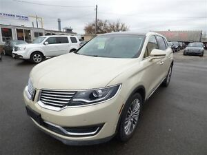 2016 Lincoln MKX RESERVE AWD & NAVI & 360 CAM & PANORAMIC SUNROO