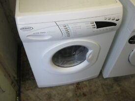 MODERN WHITE 'HOTPOINT' WASHING MACHINE. HOT & COLD FEED. 1400 SPIN. VIEWING/DELIVERY AVAILABLE