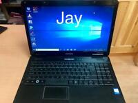 4GB emachines Laptop 250GB window10,Microsoft office,Ready to use
