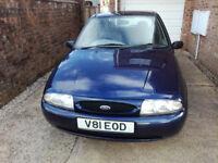 Ford Fiesta 1999 Mk4 1.25ltr Zetec