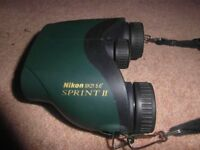 Nikon 9*21 Sprint 2 binoculars with right diopter lens