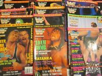 WWE / WWF WRESTLING OFFICIAL MAGAZINES ALL 12 ISSUES 1994 ALL IN GOOD CONDITION