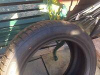 Winter tyres 225/55R18