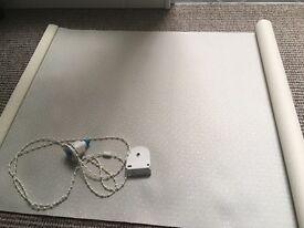 Cream roller blind 57cm width