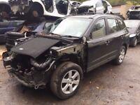 Hyundai Santa Fe SUV 06-10 MK2 2.2 CRTD CDX+ Station Wagon black wing indicator breaking