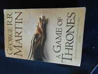 A GAME OF THRONES by George R R Martin, paperback, used for sale  West Yorkshire