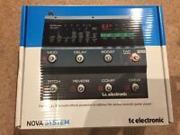 TC Electronic Nova guitar multi effects
