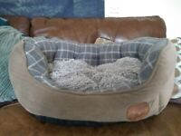 Pet Face Luxury Dog Bed