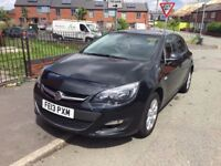 VAUXHALL ASTRA AUTOMATIC 1.6 i VVT 16v EXCLUSIVE 5dr 2013. LOW MILEAGE AT GREAT PRICE