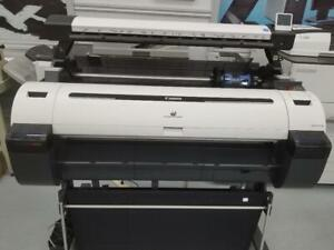 DEMO UNIT-36 INCH Canon ImagePROGRAF iPF770 Graphic Color Large Format Printer with Scanner