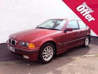 Museum Condition E36 BMW 3 SERIES 316i COMPACT, Only 45k Miles, One former keeper,Test Drive Welcome