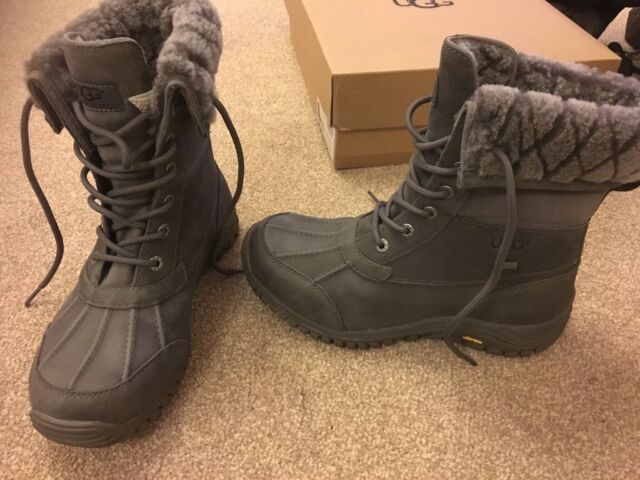 eb853ce5816 UGG ADIRONDACK II LUXE QUILT WALKING / WINTER BOOT, GREY, 6.5 *RARE* | in  Taverham, Norfolk | Gumtree