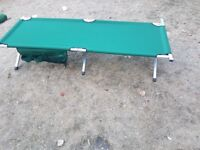 Aluminium Camping Beds - Good Condition -