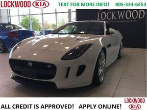 2016 Jaguar F-Type R - 5.0L SUPERCHARGED! 550HP