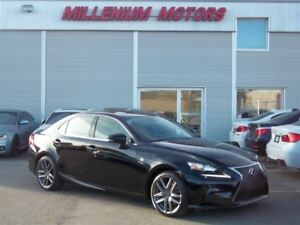2014 Lexus IS 250 AWD F-SPORT / NAVI / B.CAM / LEATHER / SUNROOF