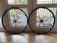 """Crank Borthers Cobalt 3 27.5"""" Wheel set - Excellent condition"""