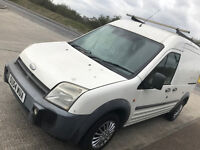 54 plate Ford 3 way loader hi top Transit Connect great drive L230 van Diesel with roof rack READ AD