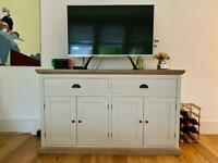 Solid wood sideboard in excellent condition