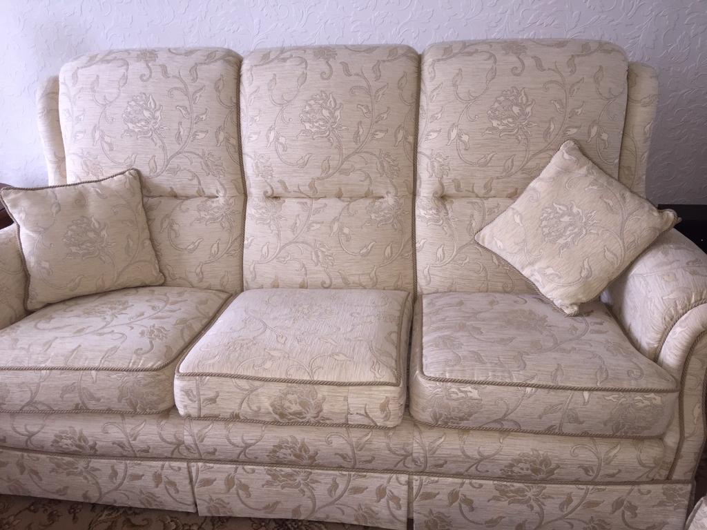 Image result for dusty cream brocade sofa