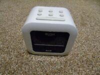 bush dab clock radio