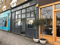Beautiful, clean, versatile A1 POP UP shop retail space to let in Nunhead SE15