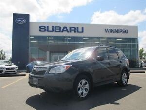 2014 Subaru Forester 2.5 - Base model MT