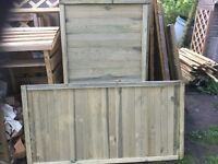 Fence Panels. New.
