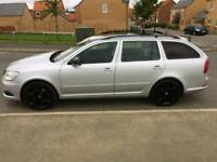Skoda Octavia VRS 2.0 tdi estate auto with paddle shifters
