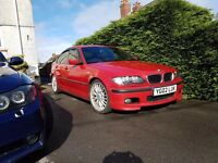 Bmw e46 330d manual imola red