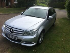 2012 MERCEDES C220 CDI EXECUTIVE SE BLUE-CY AUTOMATIC 1 OWNER SAT NAV LEATHERS