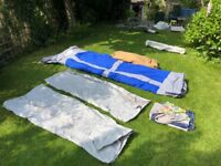 Large frame tent sleeping 5/6 never been used. Great tent for a large family holiday.