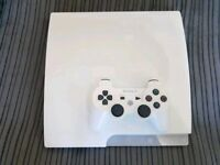 PS3 White 500 Gig Fantastic Condition £110 No Offers Immediate Pickup