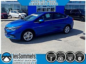 2017 CHEVROLET CRUZE LT **TOIT OUVRANT**CAMERA RECUL