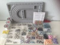 Large bundle 50+ packs of beads, charms, crafts